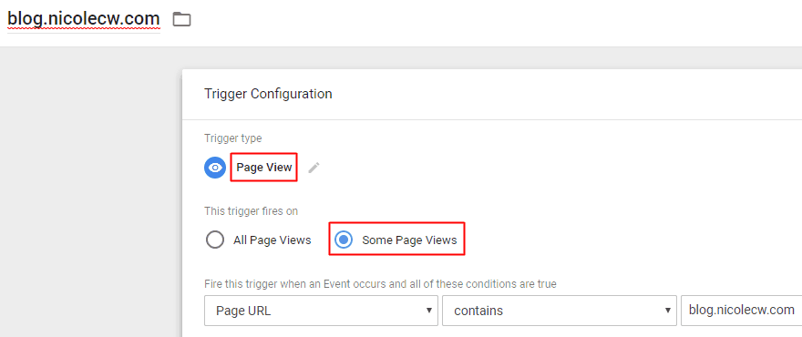 Google Tag Manager - Subdomain Trigger