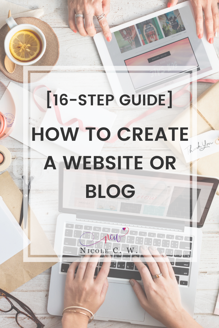 [Entrepreneurship Tips] [16-Step Guide] How To Create A Website Or Blog