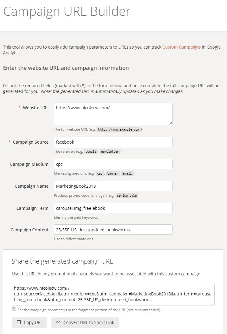 Campaign URL Builder - UTM