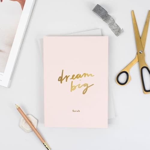 Etsy - Dream Big Notebook