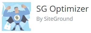 WordPress Plugin - SG Optimizer Logo