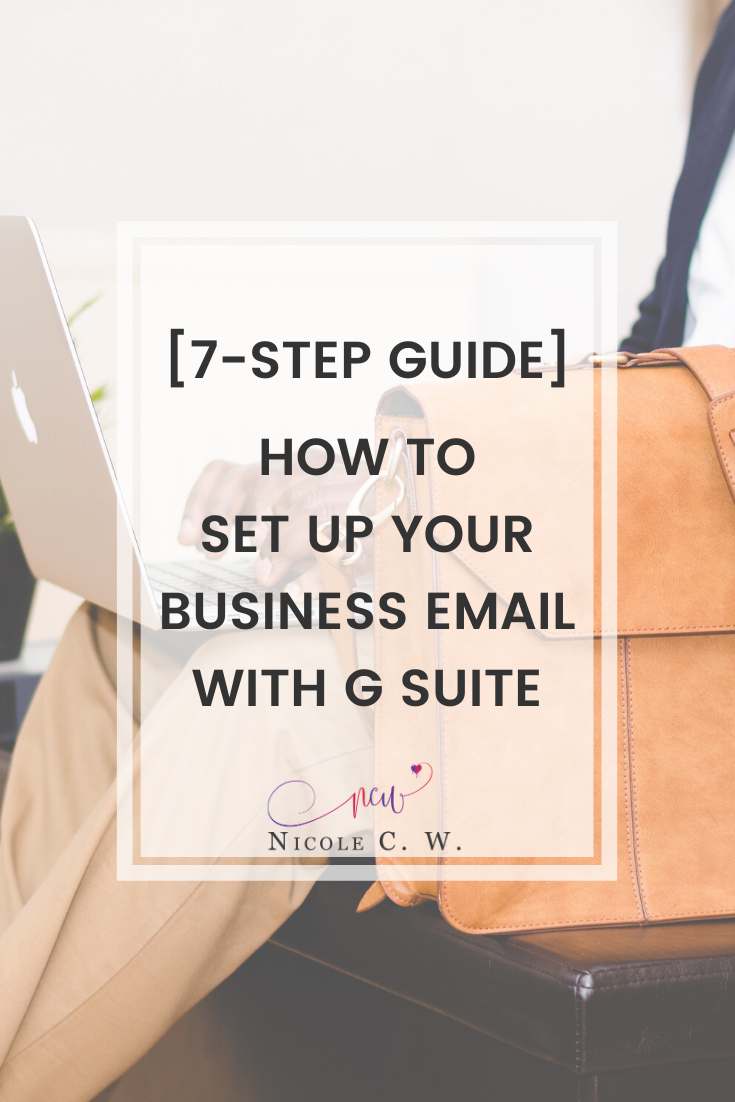 [Entrepreneurship Tips] [7-Step Guide] How To Set Up Your Business Email With G Suite