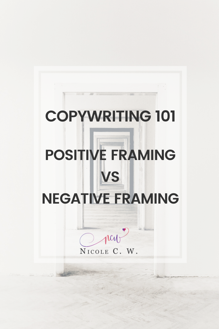 [Marketing Tips] Copywriting 101 - Positive Framing vs Negative Framing