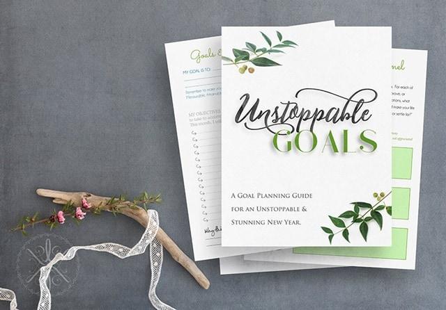 Etsy - Printable Goal Planner