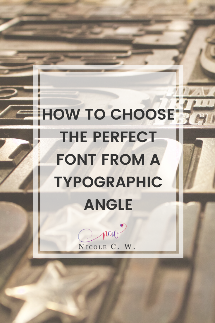 [Entrepreneurship Tips] How To Choose The Perfect Font From A Typographic Angle