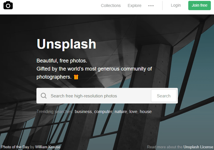 Stock Image - Unsplash