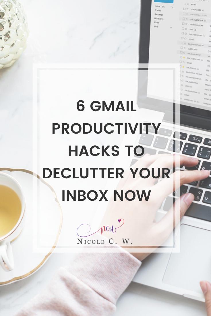 [Entrepreneurship Tips] 6 Gmail Productivity Hacks To Declutter Your Inbox Now