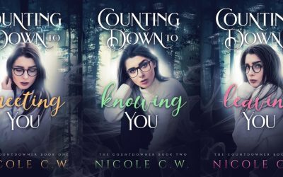 New Book Covers For The Countdowner Trilogy