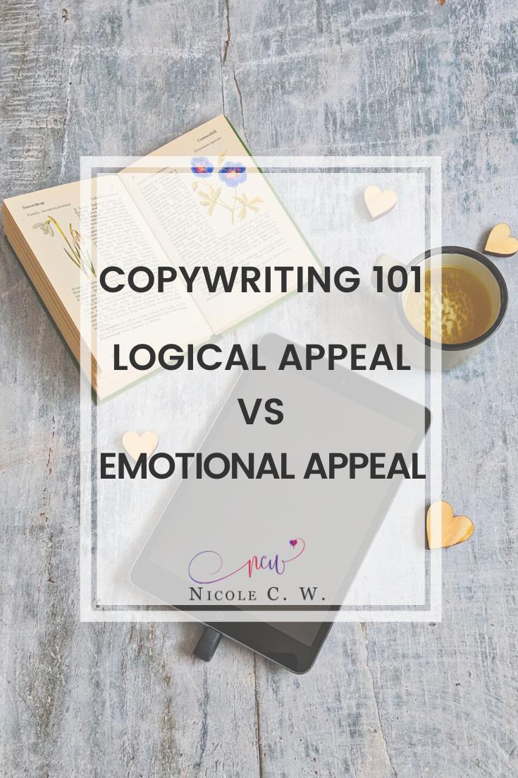 [Marketing Tips] Copywriting 101 - Logical Appeal vs Emotional Appeal