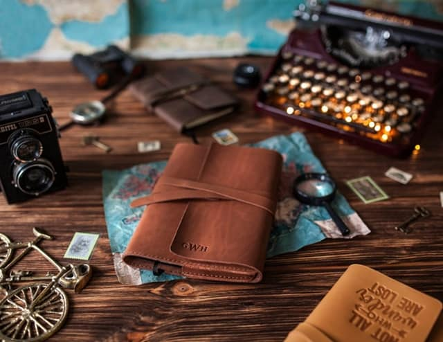 Etsy - Leather Notebook