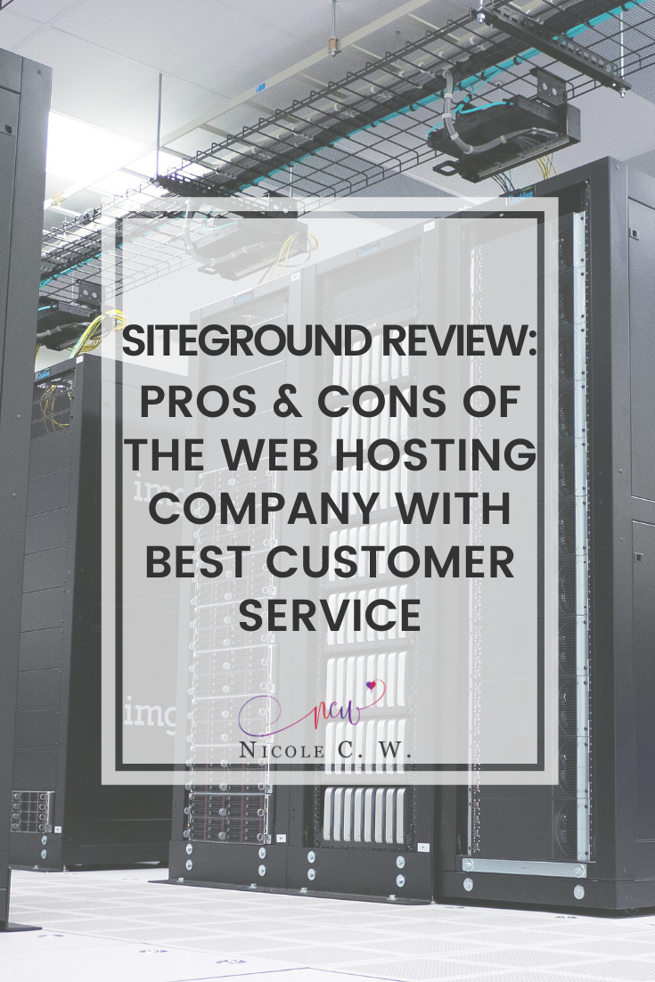 [Entrepreneurship Tips] SiteGround Review - Pros & Cons Of The Web Hosting Company With Best Customer Service