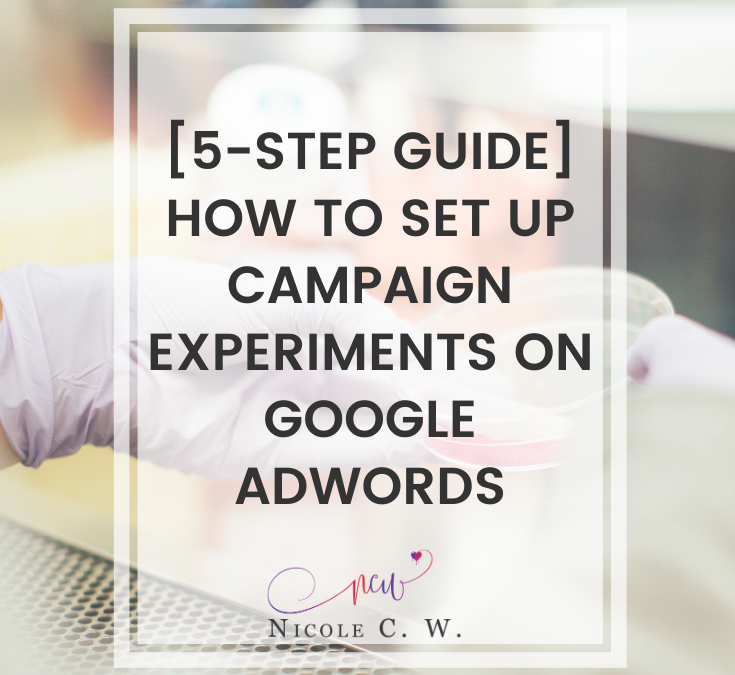 [5-Step Guide] How To Set Up Campaign Experiments On Google AdWords