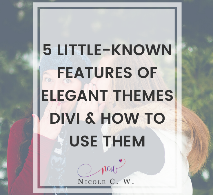 5 Little-Known Features Of Elegant Themes Divi & How To Use Them
