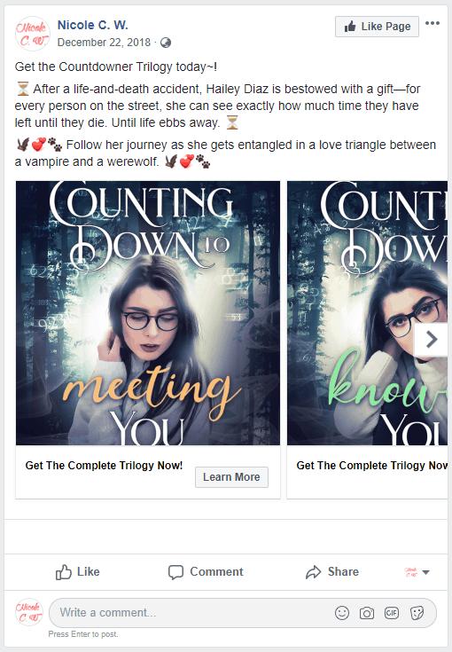 Facebook - Carousel Ad