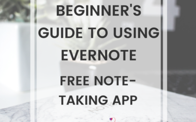 Beginner's Guide To Using Evernote, Free Note-Taking App