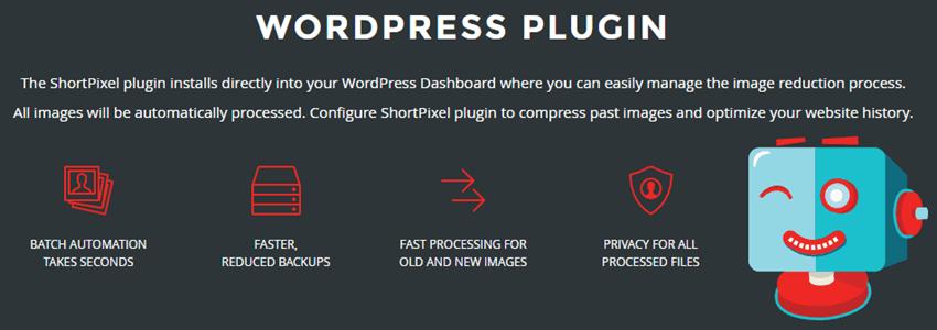 ShortPixel - WordPress Plugin Benefits