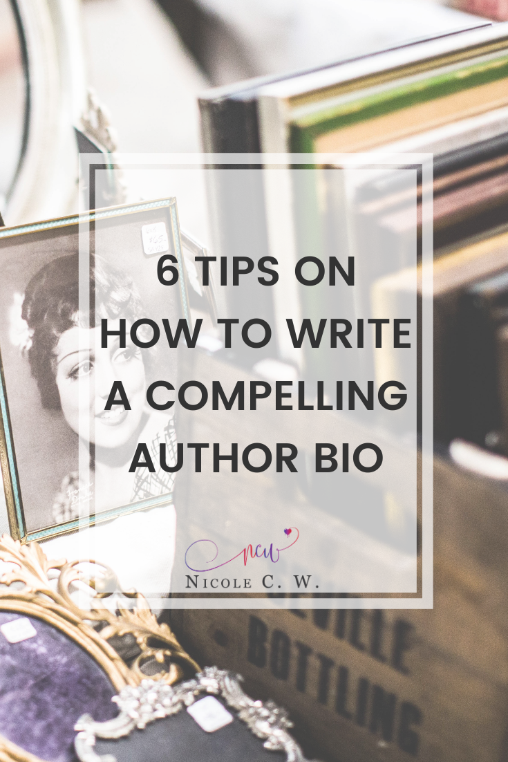 [Self-Publishing Tips] 6 Tips On How To Write A Compelling Author Bio