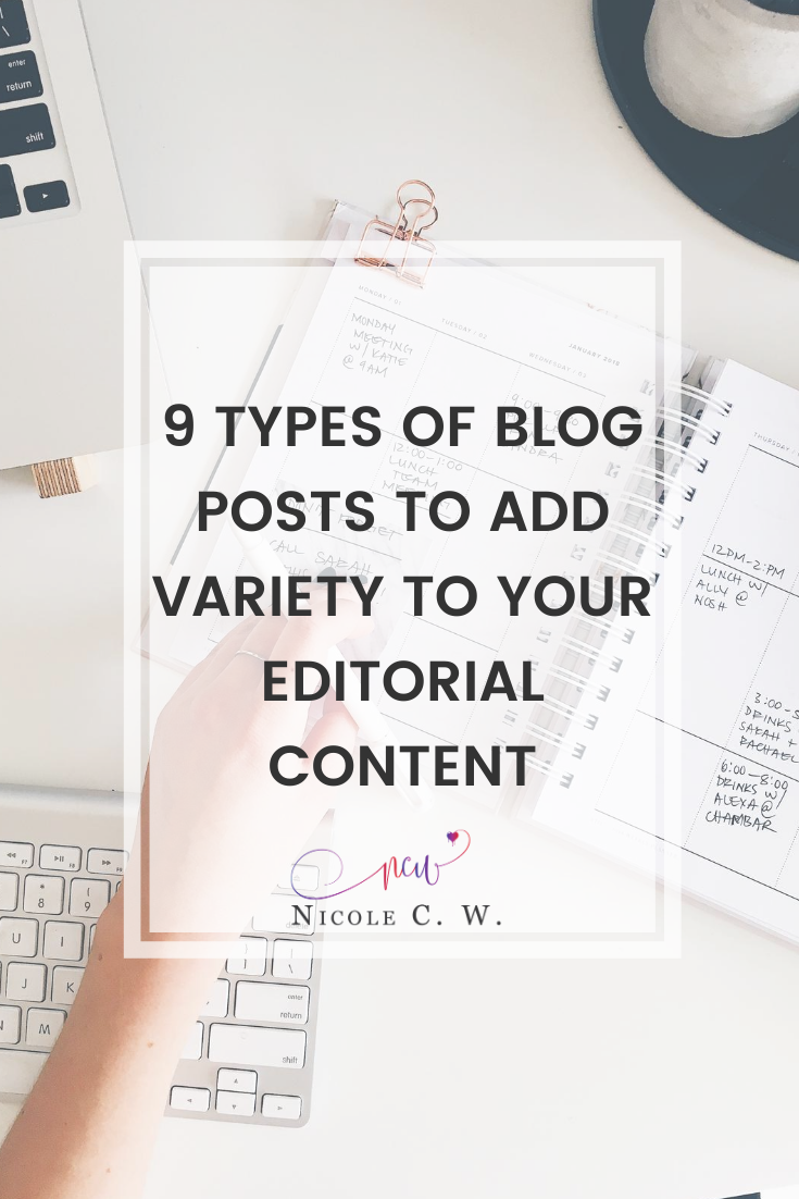 [Marketing Tips] 9 Types Of Blog Posts To Add Variety To Your Editorial Content