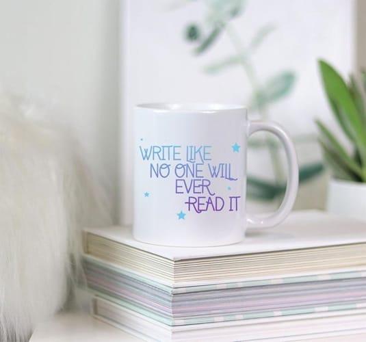Etsy - Writer Author Cup Mug