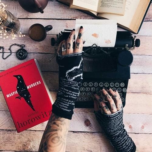 Etsy - Writing Hand Warmer Glove
