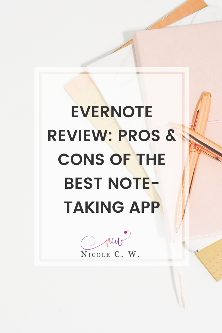 [Entrepreneurship Tips] Evernote Review - Pros & Cons Of The Best Note-Taking App