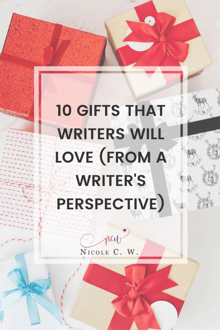 [Self-Publishing Tips] 10 Gifts That Writers Will Love (From A Writer's Perspective)