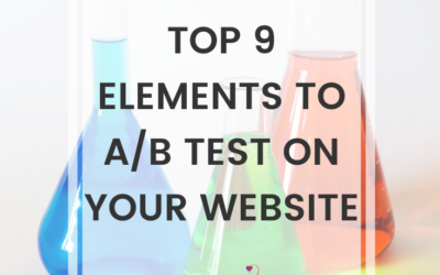 Top 9 Elements To A/B Test On Your Website