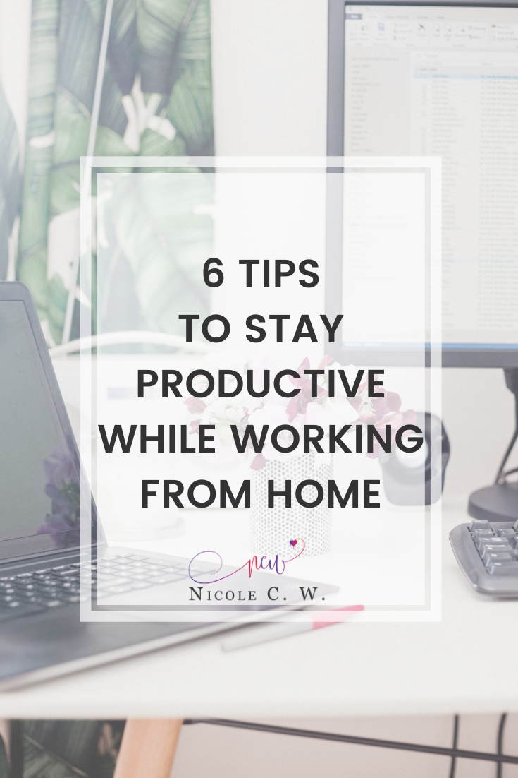 [Entrepreneurship Tips] 6 Tips To Stay Productive While Working From Home