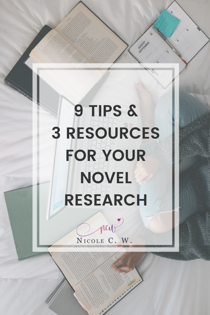 [Self-Publishing Tips] 9 Tips & 3 Resources For Your Novel Research