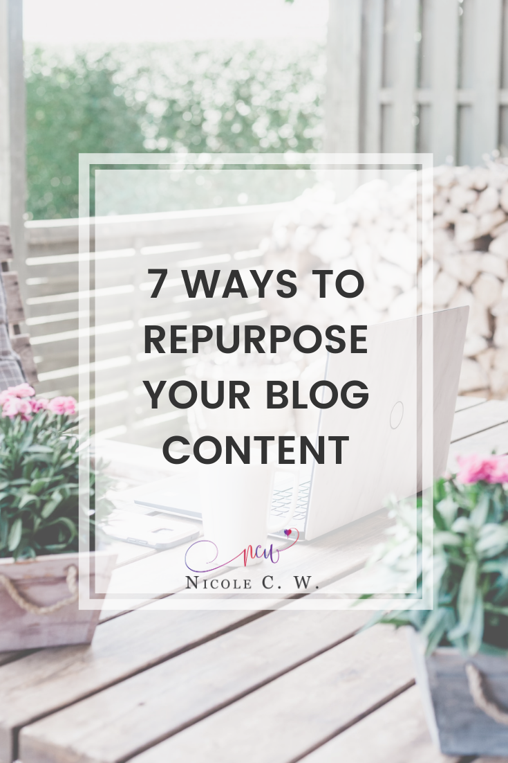 [Marketing Tips] 7 Ways To Repurpose Your Blog Content