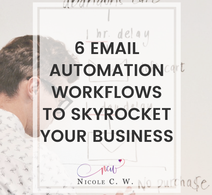 6 Email Automation Workflows To Skyrocket Your Business