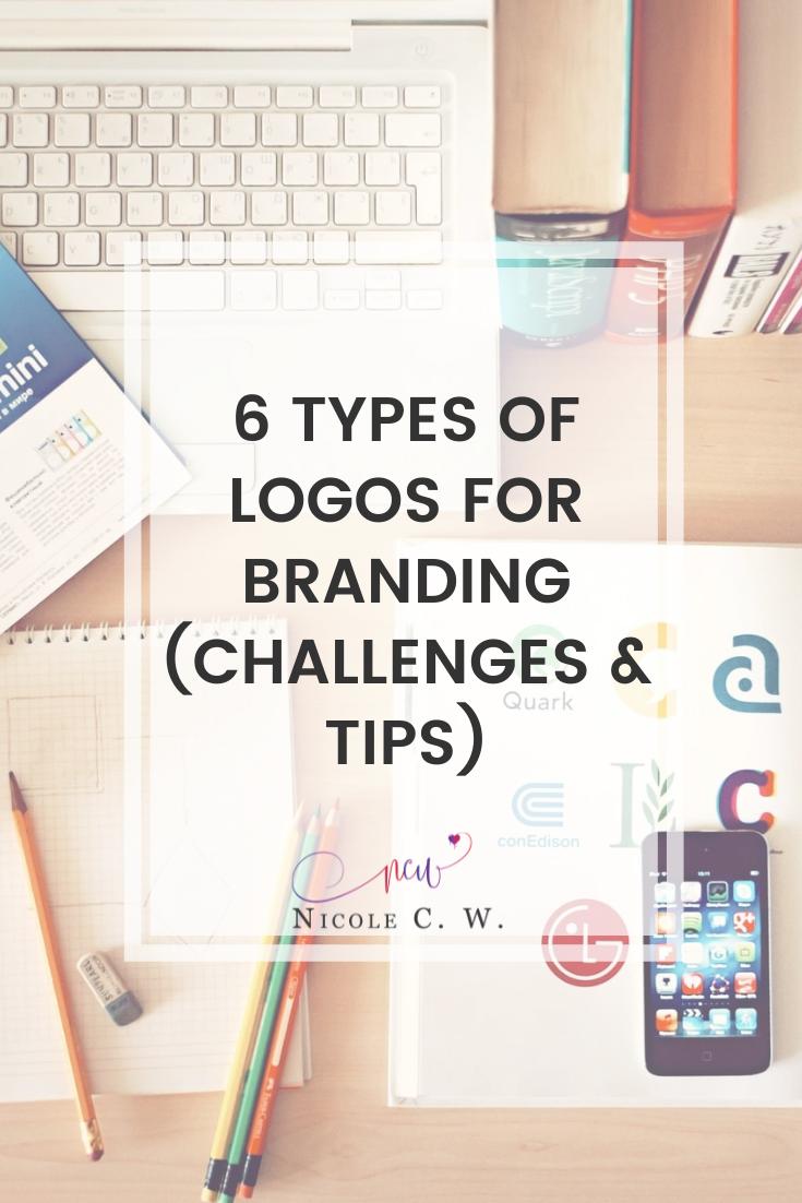 [Entrepreneurship Tips] 6 Types Of Logos For Branding (Challenges & Tips)